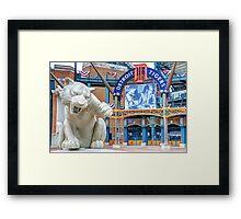 Tiger Opening Day Entrance Framed Print