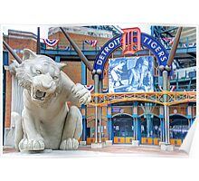 Tiger Opening Day Entrance Poster