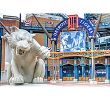 Tiger Opening Day Entrance Photographic Print
