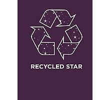 Recycled Star Photographic Print
