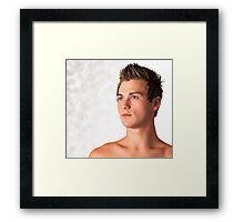 Baby's Blue Eyes Framed Print