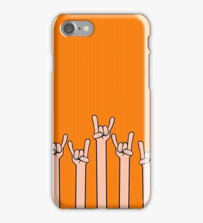 Born to rock iPhone Case/Skin