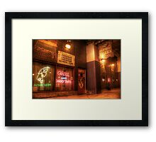 Billy Goats Grill Framed Print