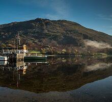 Glenridding Pier by Dave Hudspeth