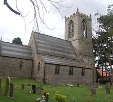 ST OSWALDS CHURCH, DUNHAM -ON - TRENT,  NOTTINGHAMSHIRE by The-Stranger
