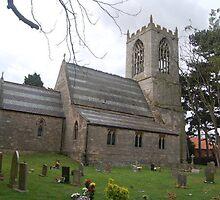 ST OSWALDS CHURCH, DUNHAM -ON - TRENT,  NOTTINGHAMSHIRE by The-Stranger