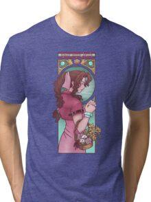 Ancient Flower Girl Tri-blend T-Shirt