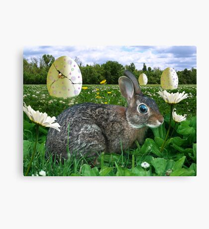 """You Would Be """"Chicken"""" To Lay An Egg That Big Too Canvas Print"""