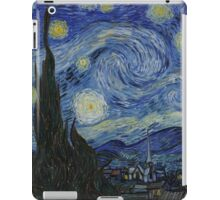 The Starry Night by Vincent van Gogh iPad Case/Skin