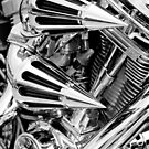 Chrome - chopper detail by ©  Paul W. Faust