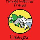Horned Warrior Friends Calendar by jezkemp
