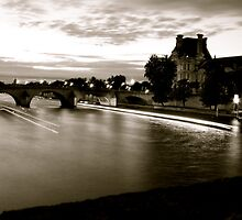 Paris Canal in Eight Seconds by Andrew Lapierre