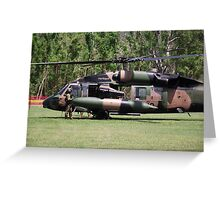 Helicopter Prince Williams Visit to Cardwell, North Queensland, Australia 2012 Greeting Card