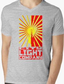 Night Watch: City Light Company Mens V-Neck T-Shirt
