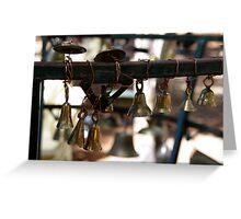little brass bells Greeting Card