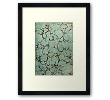 Vintage pattern design Framed Print