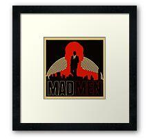 Mad Man TV Series Logo Framed Print