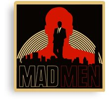 Mad Man TV Series Logo Canvas Print