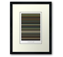 Interstellar - Movie Poster - The Colors Of Motion Framed Print