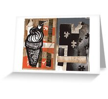 Altered Book 29 Greeting Card
