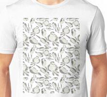 Sumi Ink Birds Pattern Unisex T-Shirt