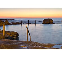 Maroubra Baths Pre-Dawn Photographic Print