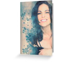 Lana Parrilla #Flowers Greeting Card