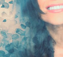 Lana Parrilla #Flowers Sticker
