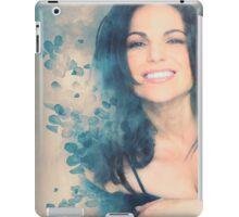 Lana Parrilla #Flowers iPad Case/Skin