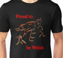 Proud to be Welsh Unisex T-Shirt