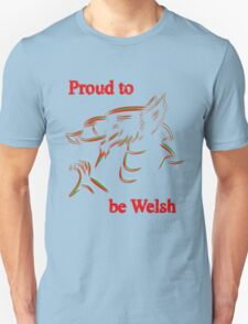 Proud to be Welsh T-Shirt