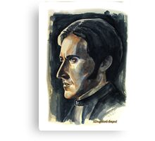 Richard Armitage, featured in Art Universe,  Shameless Self-Promotion Canvas Print