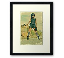 Beautiful Gloom Machine 805 Framed Print