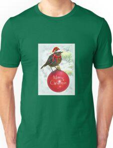 Ornamental Robin Unisex T-Shirt
