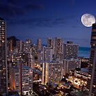 Moon Over Waikiki by Alex Preiss