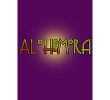 Alohomora - Harry Potter spells Photographic Print