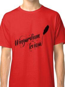 Wingardium leviosa - Harry Potter spells Classic T-Shirt