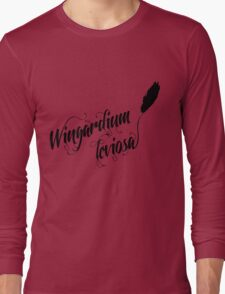Wingardium leviosa - Harry Potter spells Long Sleeve T-Shirt