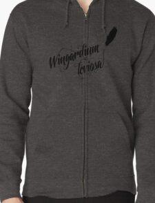 Wingardium leviosa - Harry Potter spells Zipped Hoodie