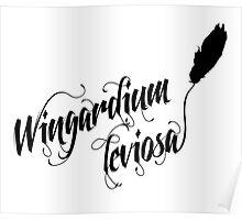 Wingardium leviosa - Harry Potter spells Poster