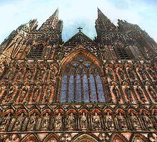 Lichfield Cathedral 2 by MartinMuir