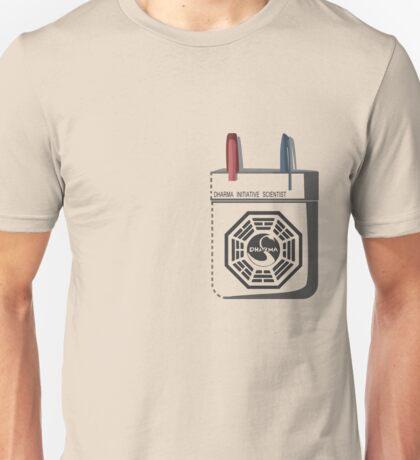 Dharma Initiative Scientist Unisex T-Shirt