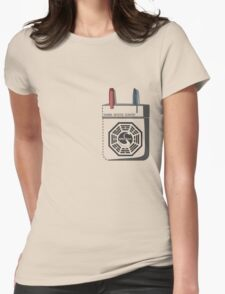 Dharma Initiative Scientist Womens Fitted T-Shirt