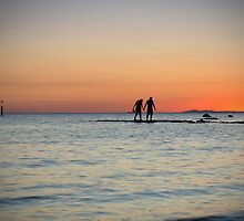 Holding Hands by James Millward