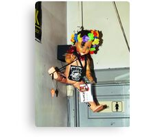 Anything is Possible at a Punk Show Canvas Print
