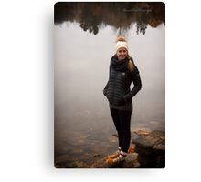 Rox by the Lake Canvas Print