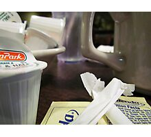 Coffee Trappings Photographic Print