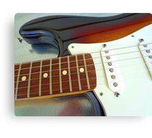 Fender curves Canvas Print