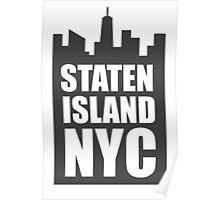 Staten Island NYC Poster