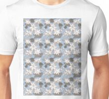 Sumi Ink Lotus Flower Unisex T-Shirt